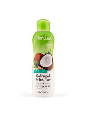 Tropiclean Kojący szampon dla psów i kotów Oatmeal & Tea Tree Pet Shampoo 355 ml