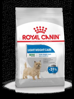 ROYAL CANIN Mini Light Weight Care 1kg karma sucha dla psów dorosłych, ras małych z tendencją do nadwagi