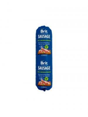 Brit Sausage Kurczak z Dziczyzną 0,8kg