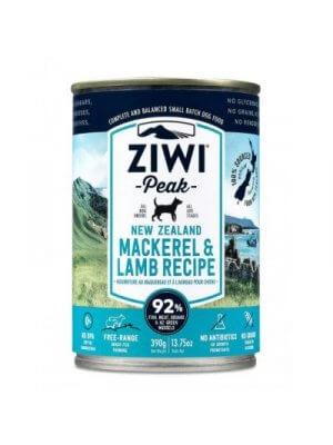 Ziwi Peak pies Mackerel & Lamb 390g - mokra karma dla psów z makrelą i jagnięciną