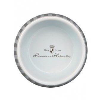 """Trixie Miska ceramiczna dla psa""""Prince""""- 1 l/o 20 cm - szaro-biała"""