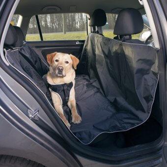 Trixie Mata do samochodu 145x160 cm - Czarna
