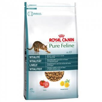 ROYAL CANIN PURE FELINE No 3 VITALITE 3 kg