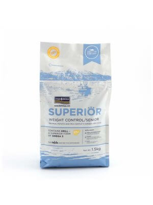 Fish4Dogs Superior Weight Control (Duża Rasa) 12 kg
