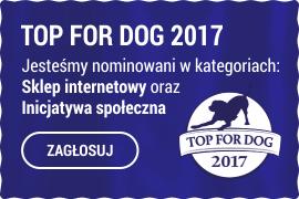 Głosuj na Sklep.karmimyPsiaki.pl w konkursie Top For Dog 2017